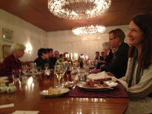 Dinner at the Danish Embassy