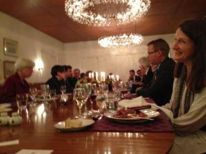 Dinner at the Danish Embassy