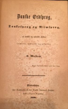 Dansk Ordsprog